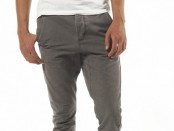 Brown Cuffed Carrot Trousers