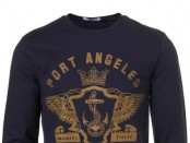 NAVY PORT ANGELES SWEATSHIRT